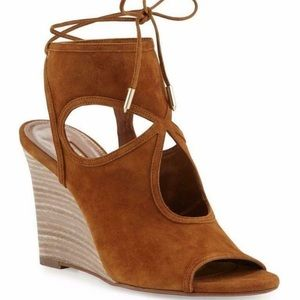 Aquazurra Sexy Thing Wedge Sandals New